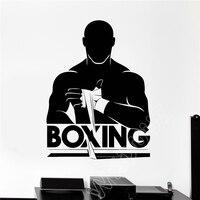 2018 Реальные прямые продажи, Мини Маус/Неймар wxduuz винил Бокс Боксерский клуб Арт Декор стикеры Настенные съёмные постеры B271