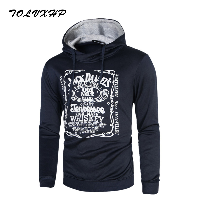2018 Sweatshirts Tracksuit Men Fashion Hip Hop Hoodies Pullover Sweat Shirt Black Tide P ...