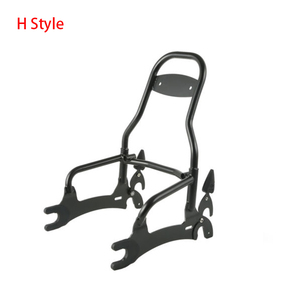 """Image 5 - Motorcycle 12"""" Backrest Sissy Bar With Pad Luggage Rack For Indian Chief Classic Vintage Chieftain 2014 2018 Roadmaster 14 Style"""