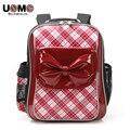UNME высокого класса бренда студенческие спинного поддержка сумка Рюкзак для девочки Дети школьный 1-3 класс