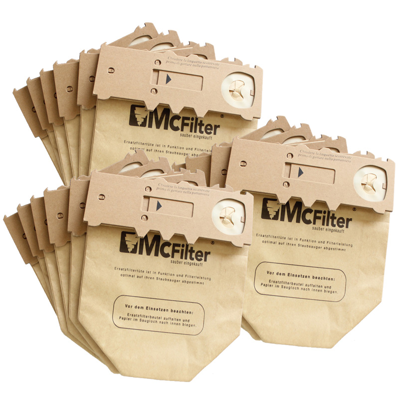 15 pieces / batch bag <font><b>VORWERK</b></font> Kobold <font><b>VK130</b></font> VK131 FP130 FP131 KOBOLD130 KOBOLD131 vacuum cleaner dust collector paper bag image