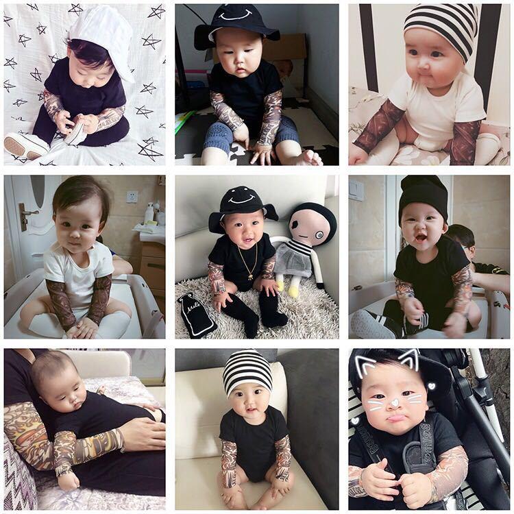 Baby Tattoo Romper
