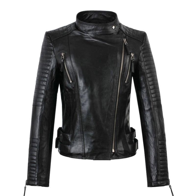 2015 Womens Leather Jackets And Coats Short Feminino ...