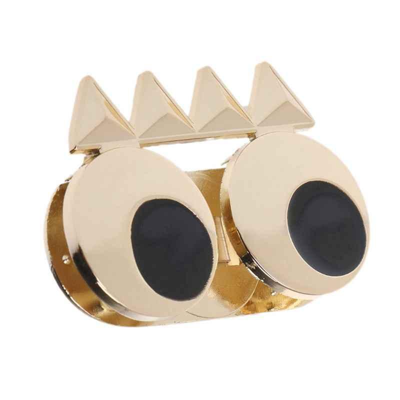 DIY מתכת חמוד עין אבזם תור טוויסט נעילה עבור מלאכת תיק כתף תיק ארנק חומרת חלקי