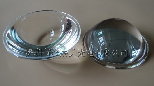 Lente in vetro ottico diametro 64MM lente piano convessa,