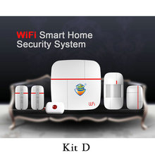 (1set) Vcare WIFI 3G WCDMA Data Stream Smart for Home Alarm System with Motion Door/Window Sensor Medical Emergency Button Ver A