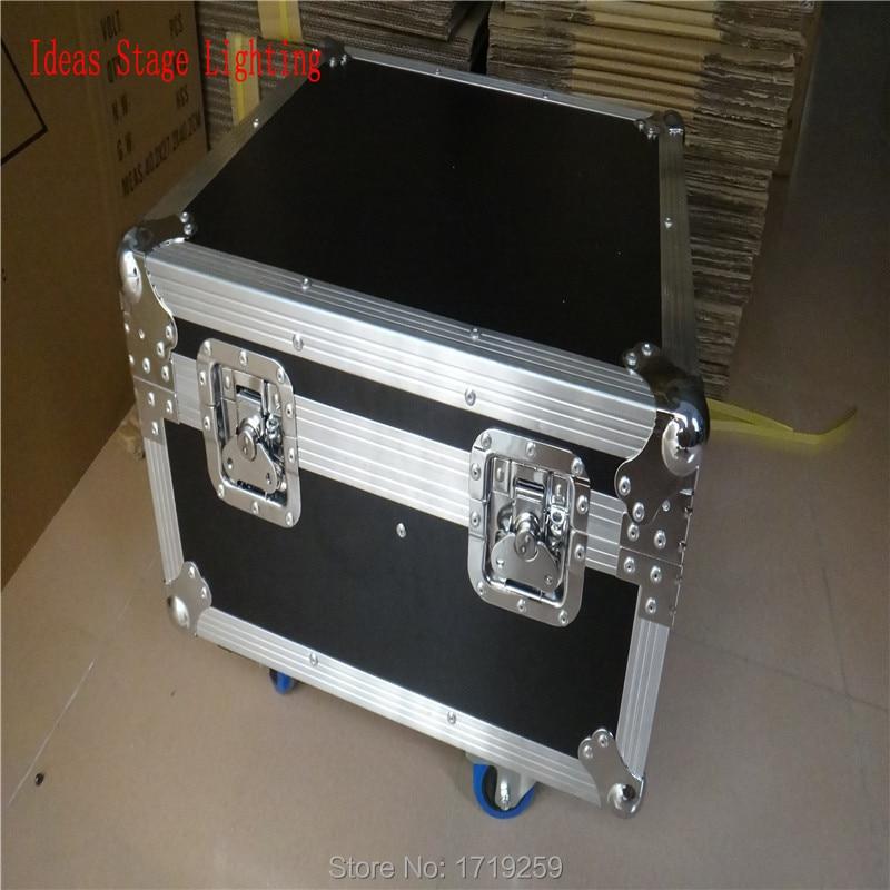 Flight Case with 8 pieces LED SlimPar 19x3W RGB  with 3/7Channels DMX with 8 pieces DMX Cables flight case with 8 pieces 18x3w rgb led