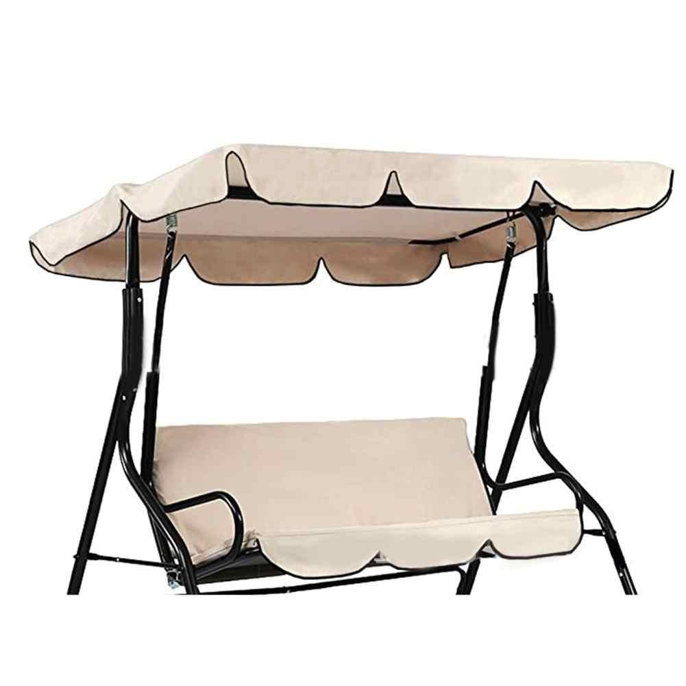 Jardin balançoire chaise auvent imperméable couverture auvent anti-poussière couverture pour jardin cour extérieure balançoire chaise auvent