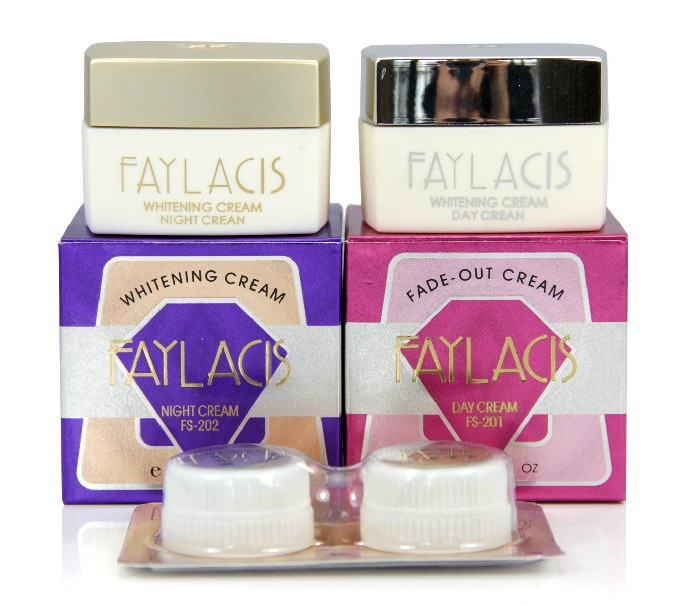 Free Shipping EMS Faylacis Whitening cream and Fade out cream Day and night cream