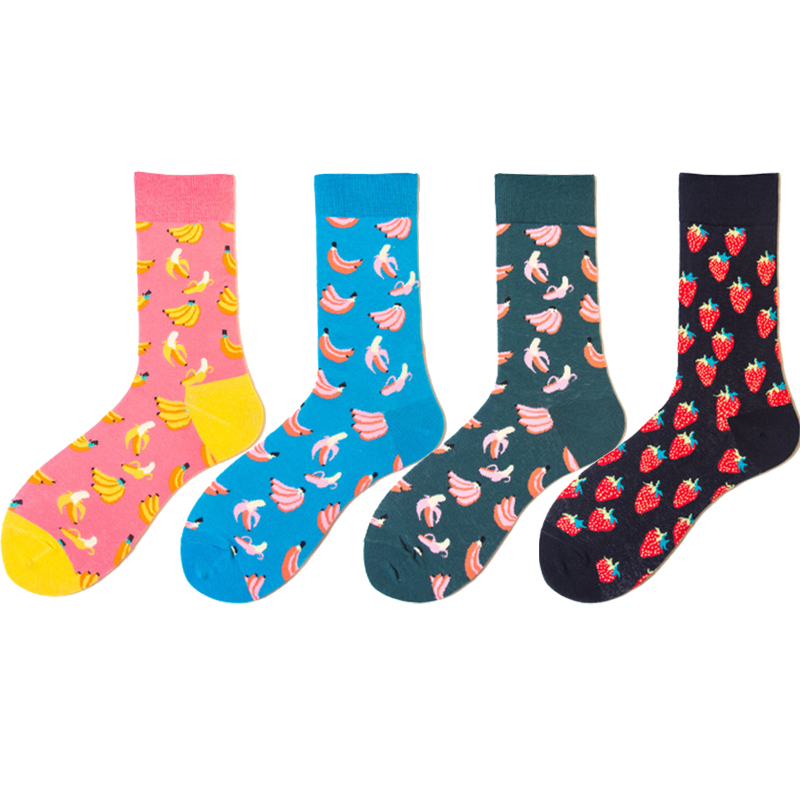 United Men Funny Colorful Animal Novelty Socks Casual Cotton Happy Socks Dress Wedding Socks Clacetines Hombre Divertidos Underwear & Sleepwears