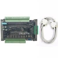 LE3U FX3U 32MT 6AD2DA 16 input 16 transistor output 6 analog input 2 analog output plc controller RS485 RTC (real time clock)