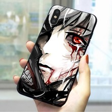 Terror Tokyo Ghou Soft TPU Cover for iPhone 6S Protective Phone Case for iPhone 6S Plus 7 8 X Xs Max XR 5 5S SE 6 Cases Skin цена и фото