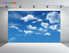 7x5ft  Sky and Cloud Vinyl Custom Photography Background Prop Muslin JTY-10