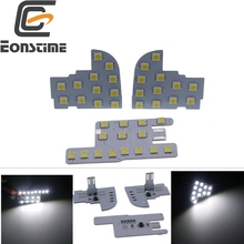 Eonstime 4Pcs For Honda CRV 2017-2019 XR-V XRV CIVIC SMD LED Interior Dome Map Reading Lights Lamps 6000K 12V