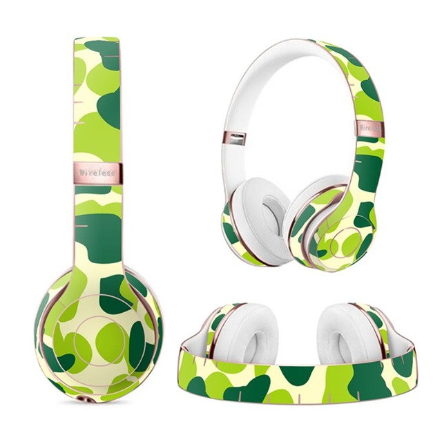 US $8 99 |Sticker Decal for Beats Solo3 Wireless Headphones,Vinyl Body  Shell Skin Protective Sticker Wrap Decal 114#-in Screen Protectors from