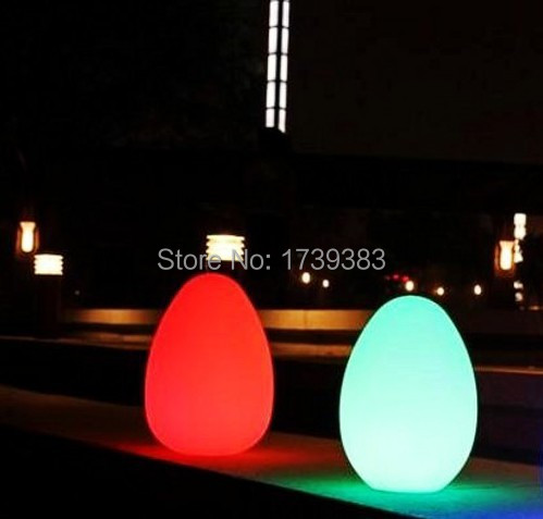 2015 Fashion D15 H21 Colorful changed rechargeable LED Egg lamp to fit tables of hotels and restaurants lampe de rable sans fil service charge in hotels and restaurants