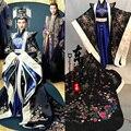 Emperatriz Magnífico Bordado Negro Traje Blanco para Más Nuevo TV Jugar A La Princesa WeiYoung Actriz Yan Tang Traje de Las Mujeres