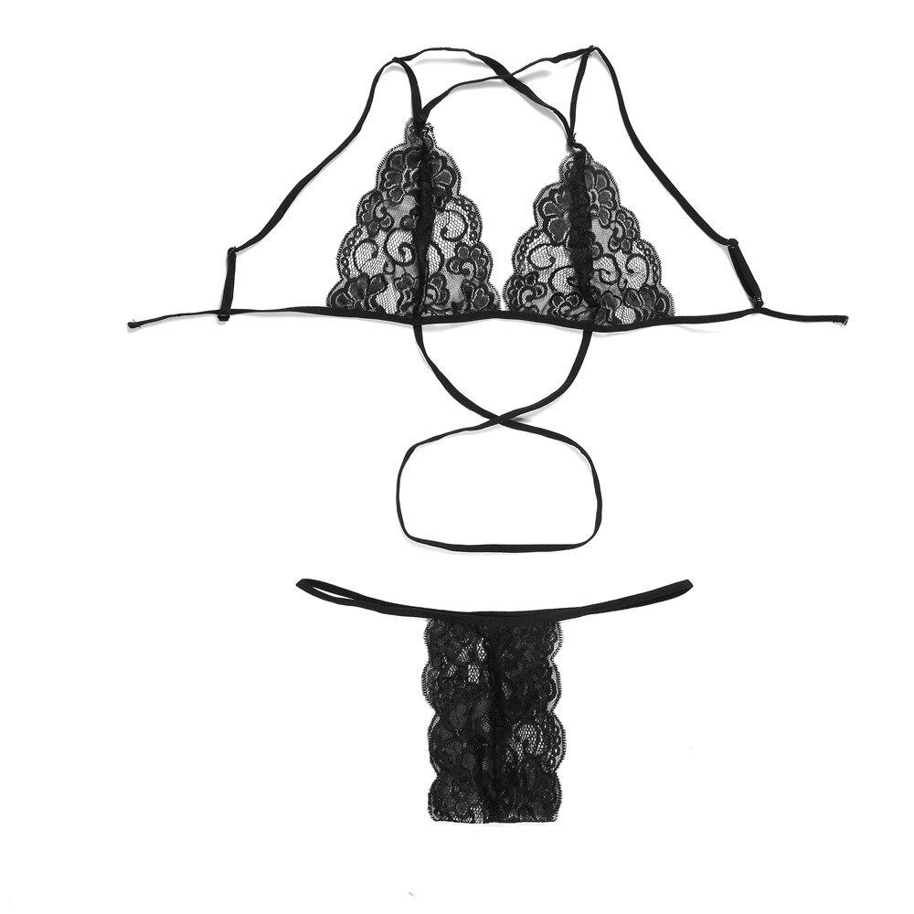 2 шт., сексуальное нижнее белье 2019, женское нижнее белье, Лолита, бандаж, кружевной бюстгальтер и трусики, комплект, бюстгальтер без косточек, ... 16