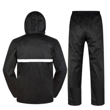 Quality Reflective Raincoat - Sanitation Worker Clothes Thickening Adult Split Outdoor Labor Insurance Waterproof Overalls Rai