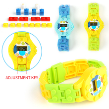 Digital Children Watch Building Blocks Baseplate Compatible Legoed Enlighten Bricks Base font b Figures b font