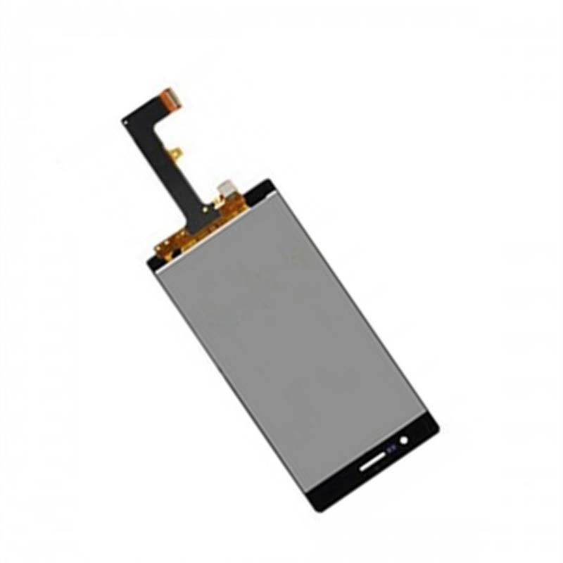 Black For Huawei Ascend P7 P7-L00 P7-L05 P7-L10 Touch Screen Digitizer Sensor Glass + LCD Display Panel Monitor Module Assembly