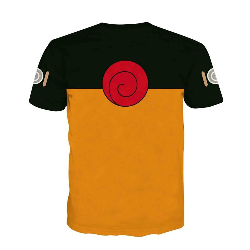 Anime Naruto Cosplay T Shirt Men 3D Print T-shirts Boruto Costumes Fourth Hokage Tshirt Summer Clothing Tees Tops Luxtees (3)