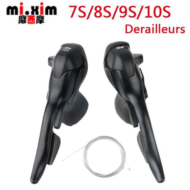 Mi xim7 8 9 10 Speed Road Bike Shifters 21 24 27 30 Speed conjoined DIP