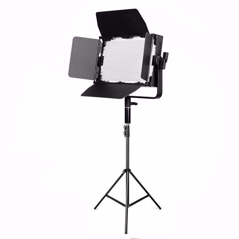 GK-J-900S 900 led Professionnel Photographie Studio éclairage vidéo Panneau Caméra Éclairage Photographique w/pied de projecteur