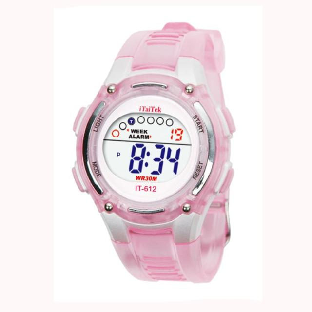#5001 Autumn LL Children Boys Girls Swimming Sports Digital Waterproof Wrist Wat