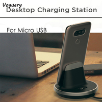 Adjustable Micro USB Sync Charge Dock Station Desktop Charger Stand Hold USB Desktop Charger Cradle for Xiaomi Samsung Galaxy S7