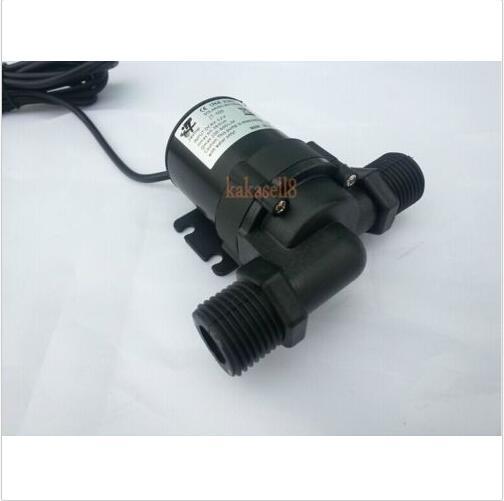 Solar DC 12V 24V Hot Water Circulation Pump Brushless Motor Water Pump 1000L/H new dc 24v solar hot water circulation pump brushless motor water pump 5m g205m best quality