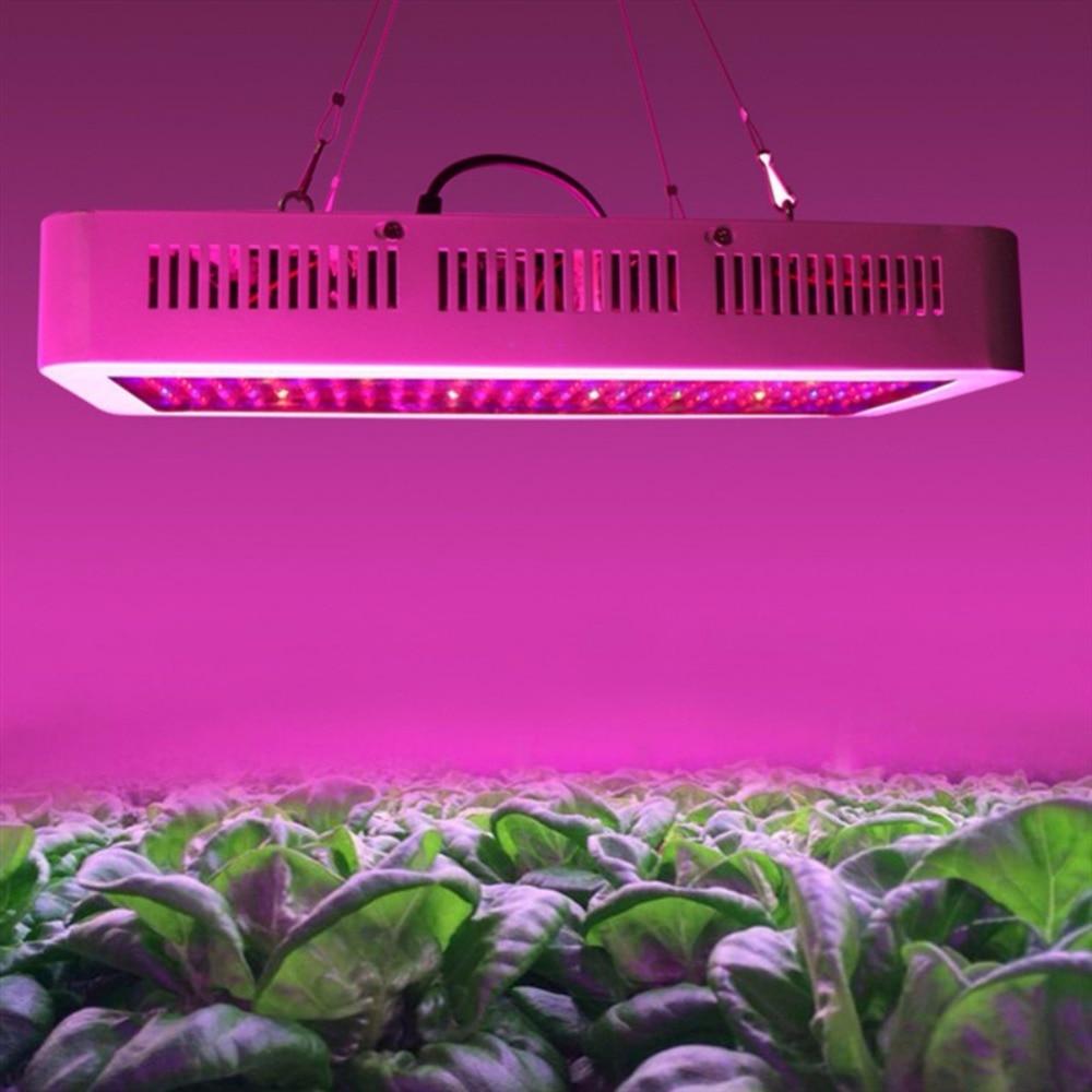 цена на 2018 New 400 LED Grow Lights Full Spectrum 400W Indoor Plant Lamp For Plants Vegs Hydroponics System Grow/Bloom Flowering