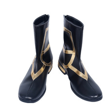 FGO Fate Grand Order Caster Merlin Ambrosius Cosplay Costume Boots Shoes