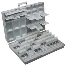 Aidetek smd для хранения SMT резистор конденсаторы Ассортимент коробка комплект лабораторная Электроника Чехлы и органайзеры коробка для хранения пластик BOXALL96