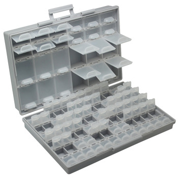 Aidetek smd lagerung SMT widerstand kondensatoren sortiment box kit Labor Elektronik Fällen & Organisatoren lagerung box kunststoff BOXALL96