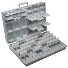 Aidetek smd storage SMT rezystory kondensatory asortyment skrzynka narzędziowa Lab elektronika walizki i organizery schowek plastikowe BOXALL96 tanie tanio Z tworzywa sztucznego