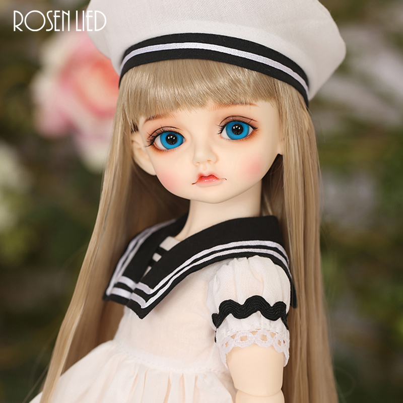 Rosenlied RL Holiday Mignon Suit BJD SD Doll Fullset Childish Adult 1/4 Free Eyes Luts Soom MSD Model Resin Girl Figures Fullset кукла bjd supia roda bjd sd doll soom luts volks toy fl