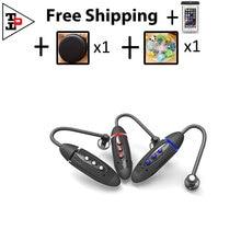 not zipper earphones headphones sports wireless stereo bluetooth headset TBE268N#