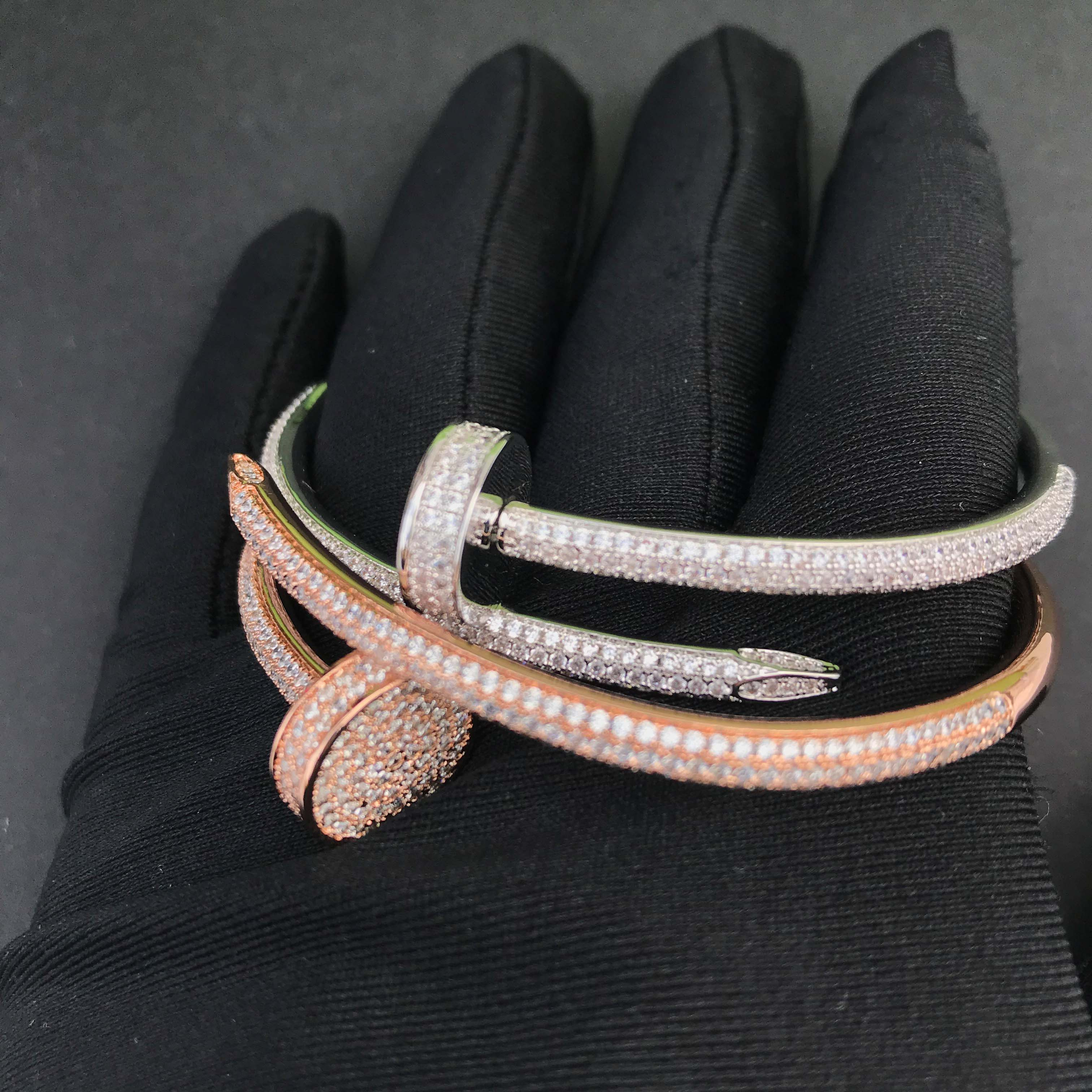Image 2 - Wholesale jewelry iced out nail bracelet-in Chain Necklaces from Jewelry & Accessories