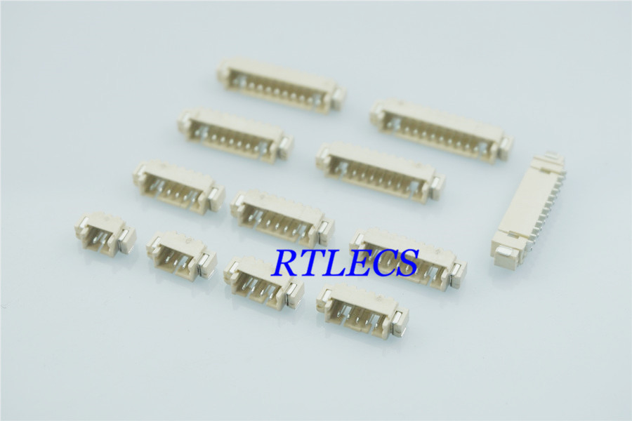 100pcs 0 049 1 25 Mm Wire To Board Connector Header 2 3 4