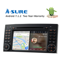 A Sure Car Android 7 1 DVD GPS Player For Mercedes Class A Class B Class