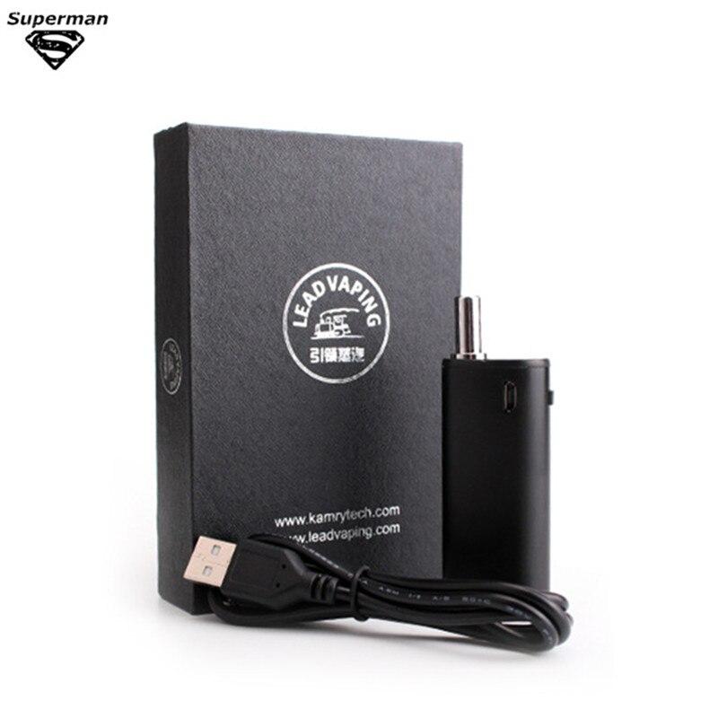 100% originale kamry bin cbd scatola olio e liquido sigaretta elettronica vaporizzatore vape mod spray penna vape narghilè elettronico