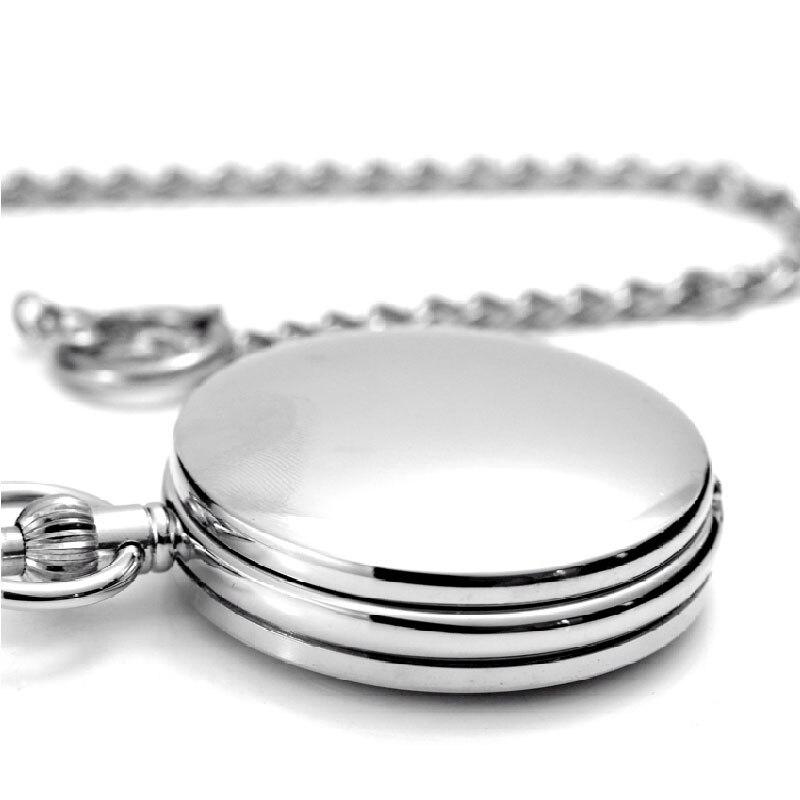 Prosta konstrukcja podwójne pełna hunter mechaniczny zegarek kieszonkowy dla kobiet mężczyzn Steampunk łańcuch zegarki zegar na prezent Top marka luksusowe reloj