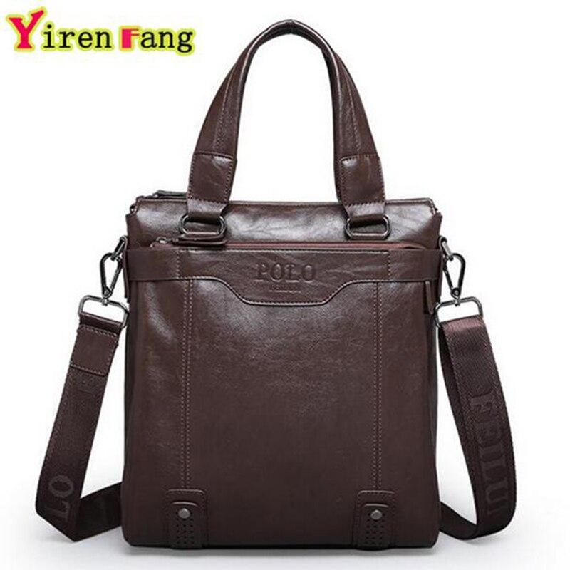 ФОТО 2016 Polo Men Messenger Bags Business Men Shoulder Bag Crossbody Bags For Men Luxury Handbags Men Bbags Designer High Quality