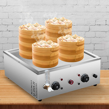 Electric Food Steamer Desktop Steamed Buns Machine Insulation Steaming Heating Pot Commercial Steamer Equipment G1904019 цена и фото