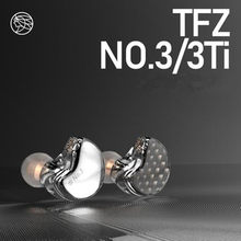 The Fragant Zither TFZ NO.3 Third Generation Unit HiFi In Ear Monitor Earphone Dynamic Driver IEM Detachable Cable S2 PRO S7 T2