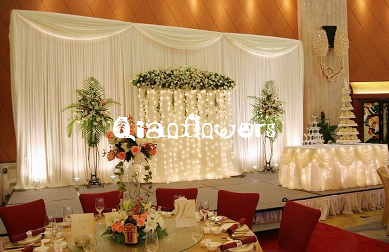 Hotsale white wedding backdrops wedding stage drape color can be hotsale white wedding backdrops wedding stage drape color can be customedwedding decor in party backdrops from home garden on aliexpress alibaba junglespirit Choice Image