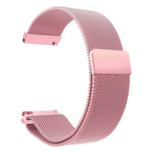 Correa de acero inoxidable Milanese loop para huawei Watch GT/honor watch magic smart watch pulsera de repuesto de hebilla magnética(China)