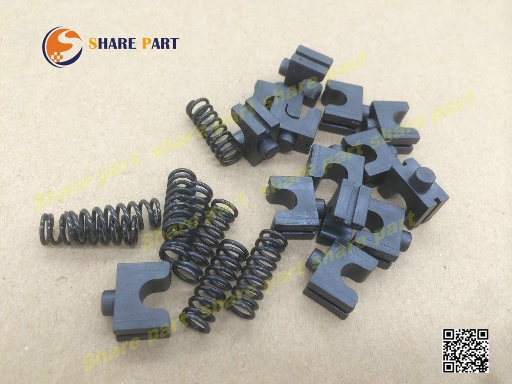 5set X original JC66-10901A 6107-001168 Pressure roller bushing Spring For samsung ML1610 ml1710 2510 2550 3050 4521 4725 25705set X original JC66-10901A 6107-001168 Pressure roller bushing Spring For samsung ML1610 ml1710 2510 2550 3050 4521 4725 2570