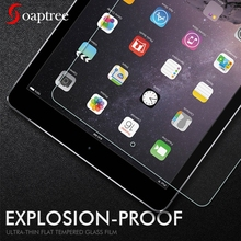 Tempered Glass For Apple iPad 9.7 inch 2018 2017 Pro 10.5 11 Glass For iPad Air 2 Mini 1 2 3 4 Screen Protector Protective Film 2pcs pack good hd screen protector for apple new 2017 ipad 9 7 pro 9 7 air 1 2 protective film cover alcohol bag rag